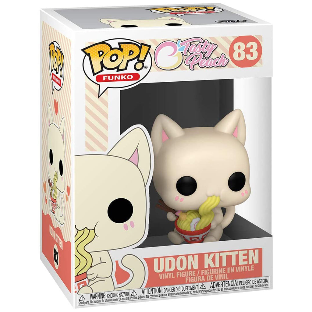 Funko Tasty Peach POP Udon Kitten Vinyl Figure
