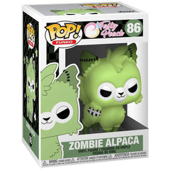 Funko Tasty Peach POP Zombie Alpaca Vinyl Figure