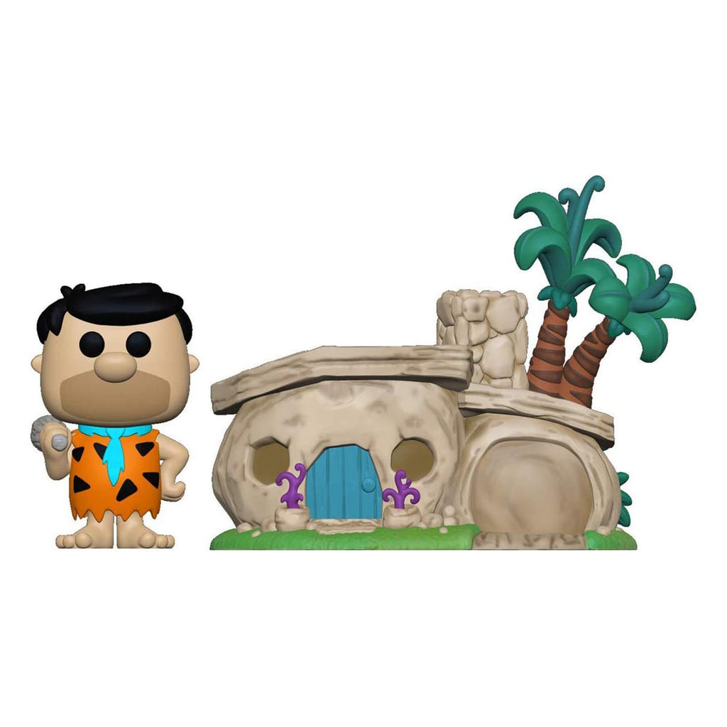 Funko The Flintstones POP Fred With House Set