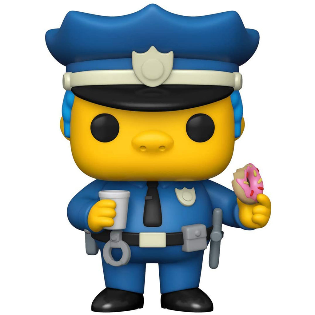 Funko The Simpsons POP Chief Wiggum Vinyl Figure