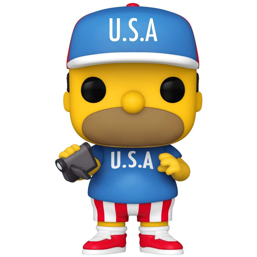 Funko The Simpsons POP USA Homer Vinyl Figure