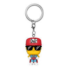 Funko The Simpsons Pocket POP Duffman Figure Keychain
