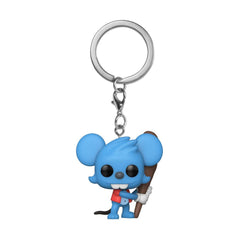 Funko The Simpsons Pocket POP Itchy Figure Keychain