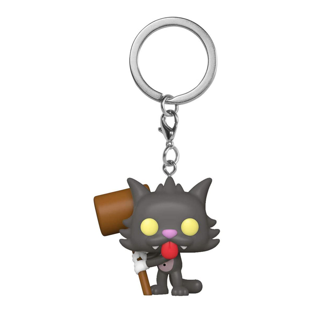 Funko The Simpsons Pocket POP Scratchy Figure Keychain