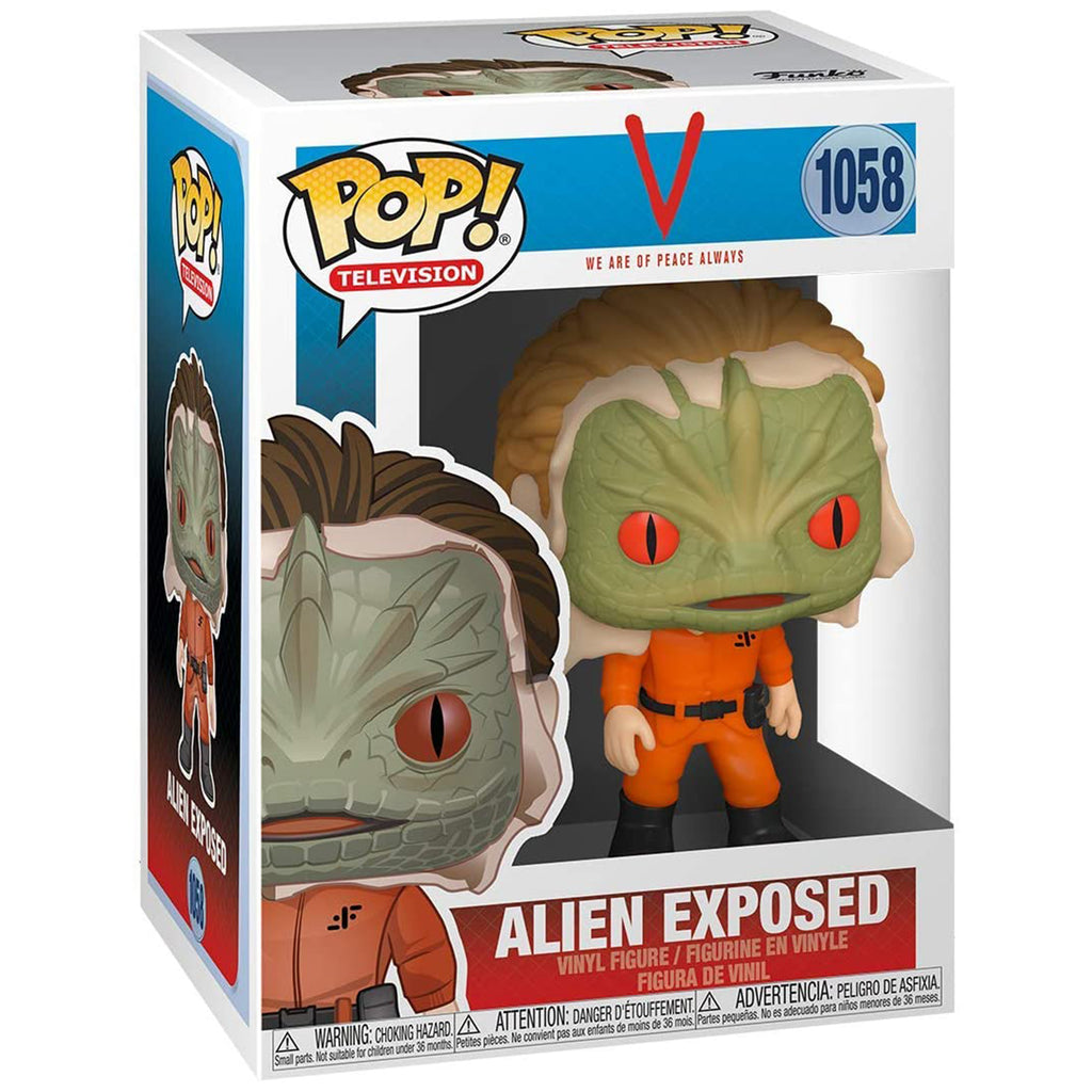Funko V TV Show POP Alien Exposed Vinyl Figure