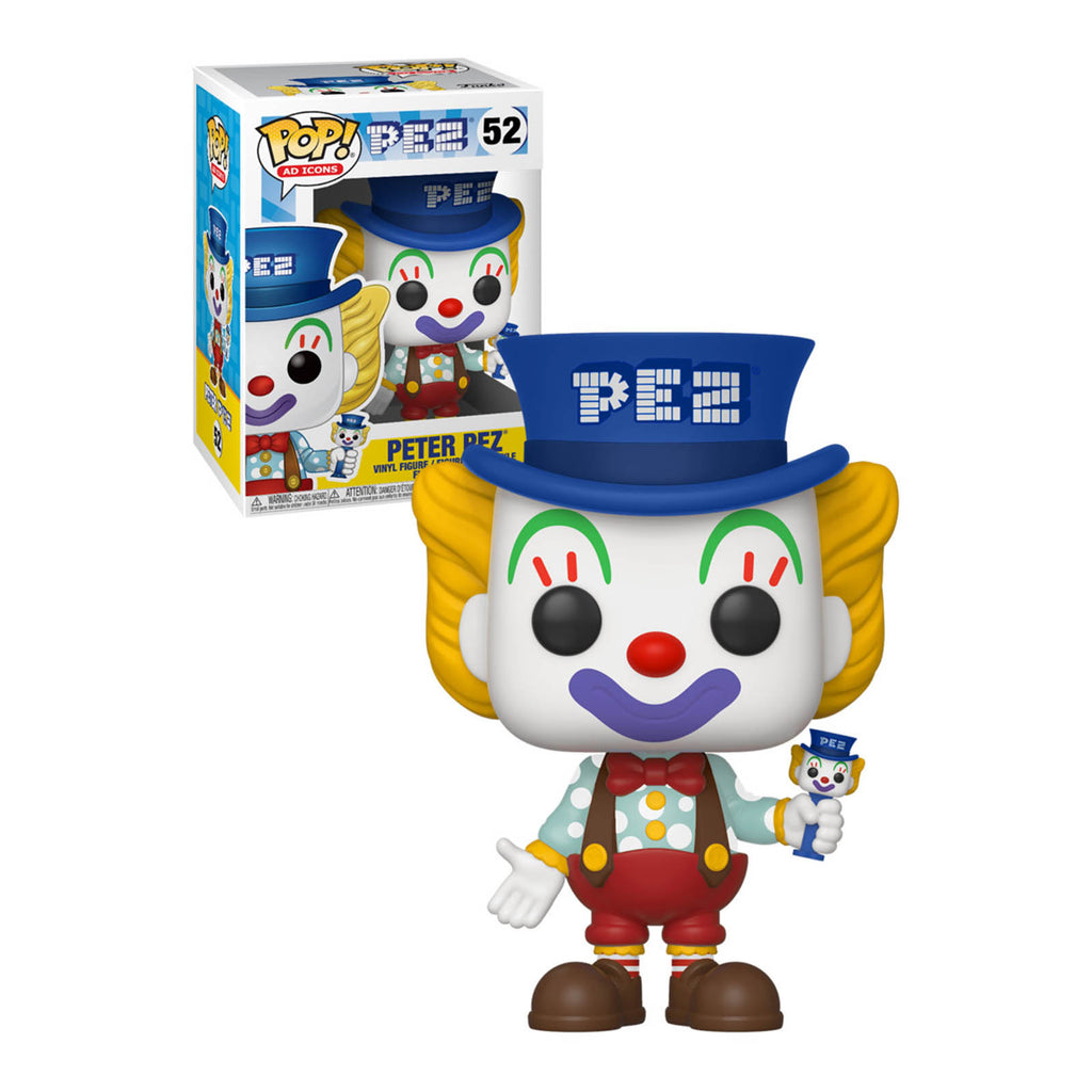 Funko Ad Icons POP Peter PEZ Vinyl Figure