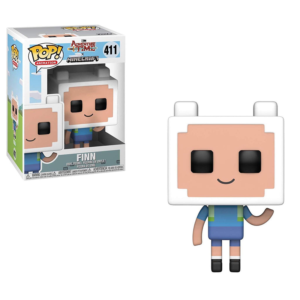 Funko Adventure Time Minecraft POP Finn Vinyl Figure