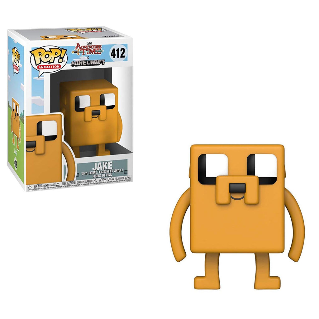 Funko Adventure Time Minecraft POP Jake Vinyl Figure