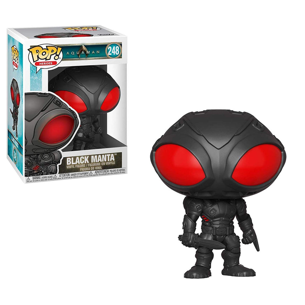 Funko POP Vinyl - Funko Aquaman POP Black Manta Vinyl Figure