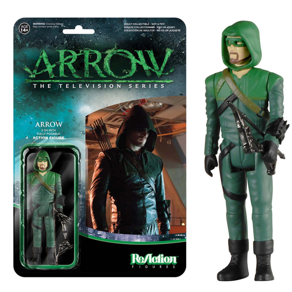 Funko Arrow Reaction Green Arrow Action Figure CHASE VERSION