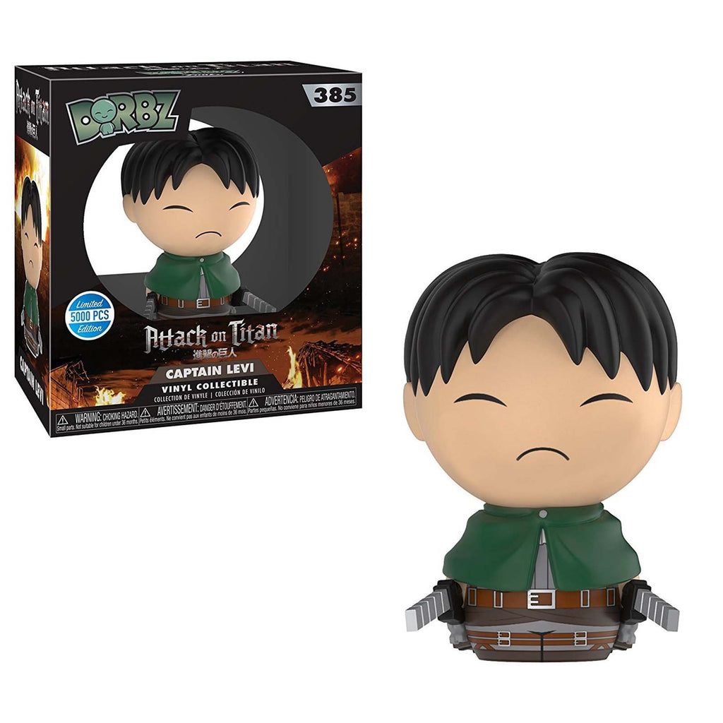 Funko Attack On Titan Limited Edition Dorbz Captain Levi Vinyl Figure