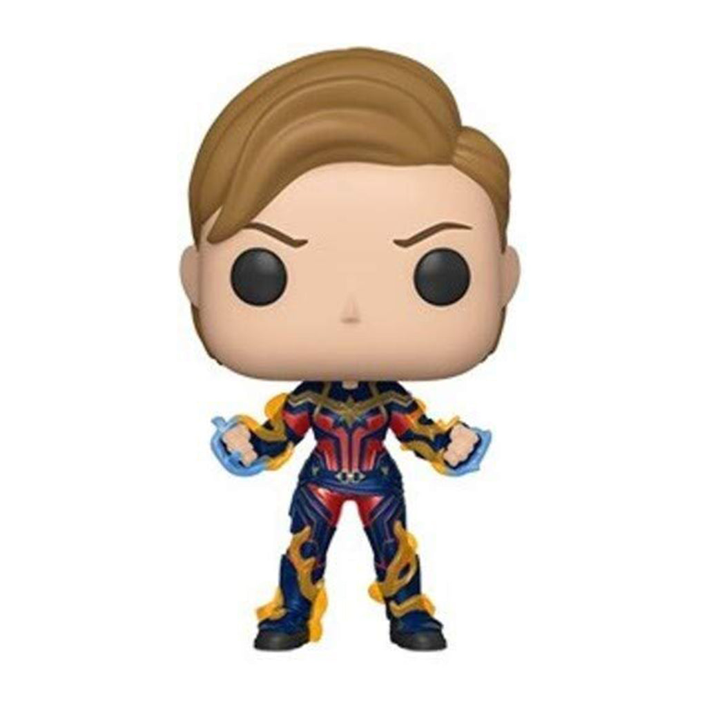 Funko Avengers End Game POP Captain Marvel New Hair Vinyl Figure