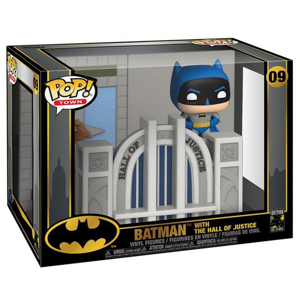 Funko Batman POP Town Batman Hall Of Justice Figure Set