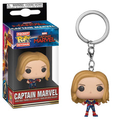 Funko Captain Marvel Pocket POP Captain America Vinyl Keychain Figure