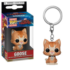 Funko Captain Marvel Pocket POP Goose The Cat Vinyl Keychain Figure