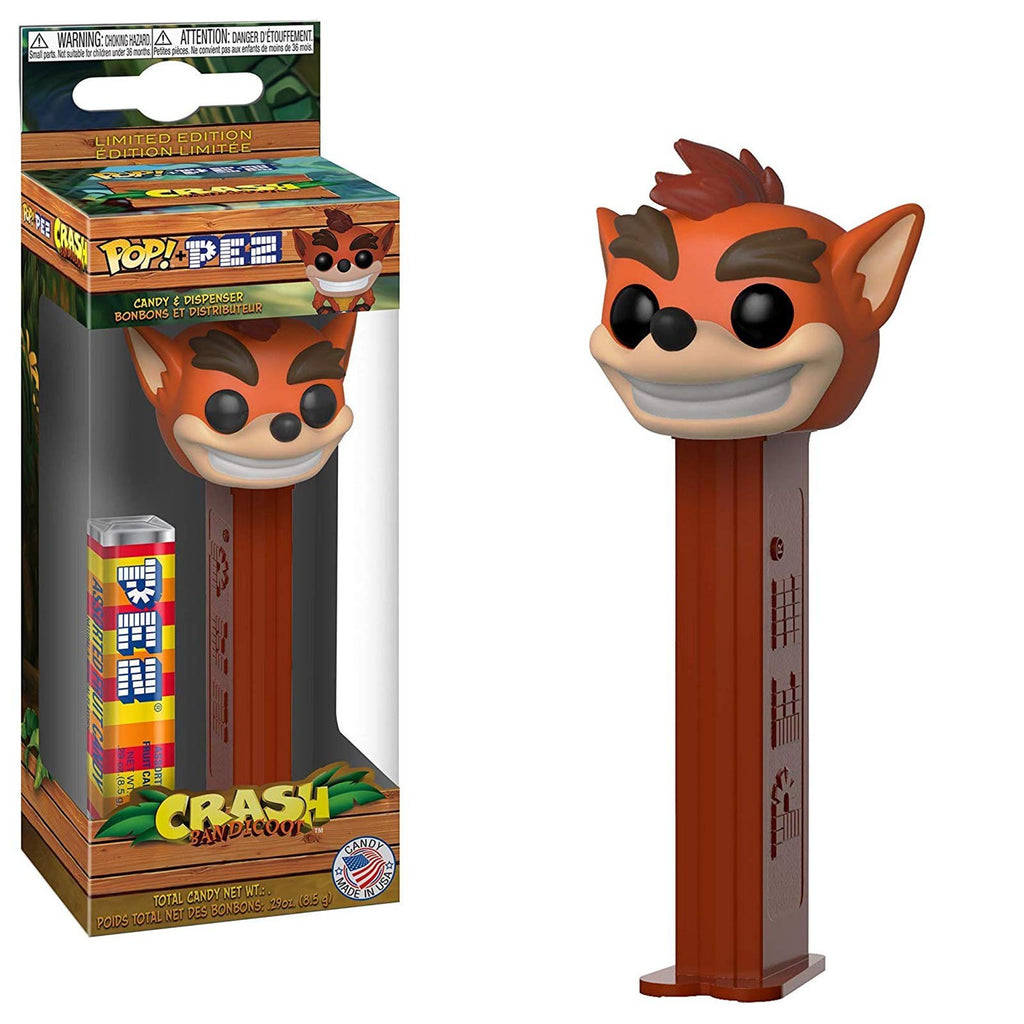 Funko Crash Bandicoot POP PEZ Dispenser
