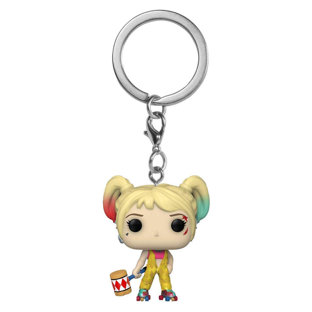 Funko DC Birds Of Prey Pocket POP Harley Quinn Boobytrap Battle Keychain