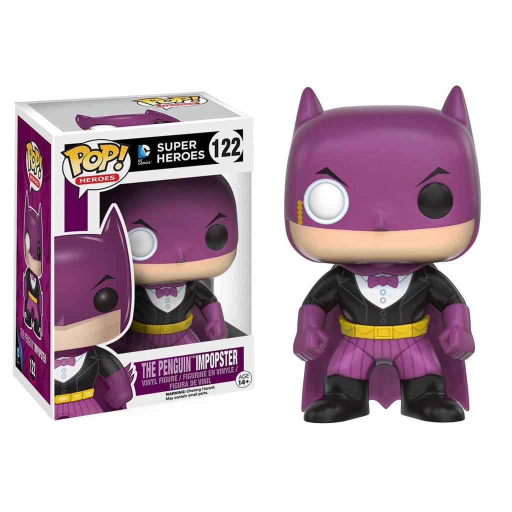 Funko DC Comics POP Penguin Batman Imposter Vinyl Figure