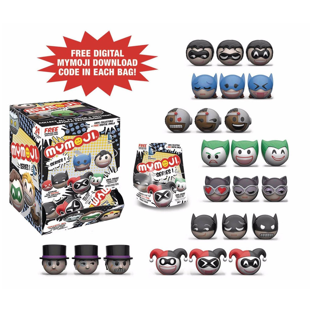 Funko DC Comics Series 1 Mymoji Blind Bag Minifigure