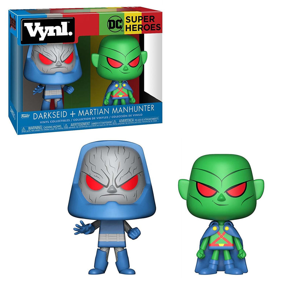 Funko DC Vynl Darkseid Martian Manhunter Figure Set