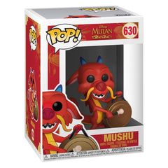 Funko Disney Mulan POP Mushu With Gong Vinyl Figure