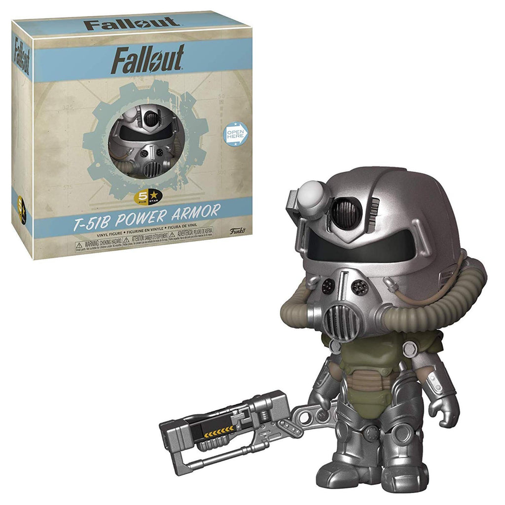 Funko Fallout 5 Star T-51B Power Armor Vinyl Figure