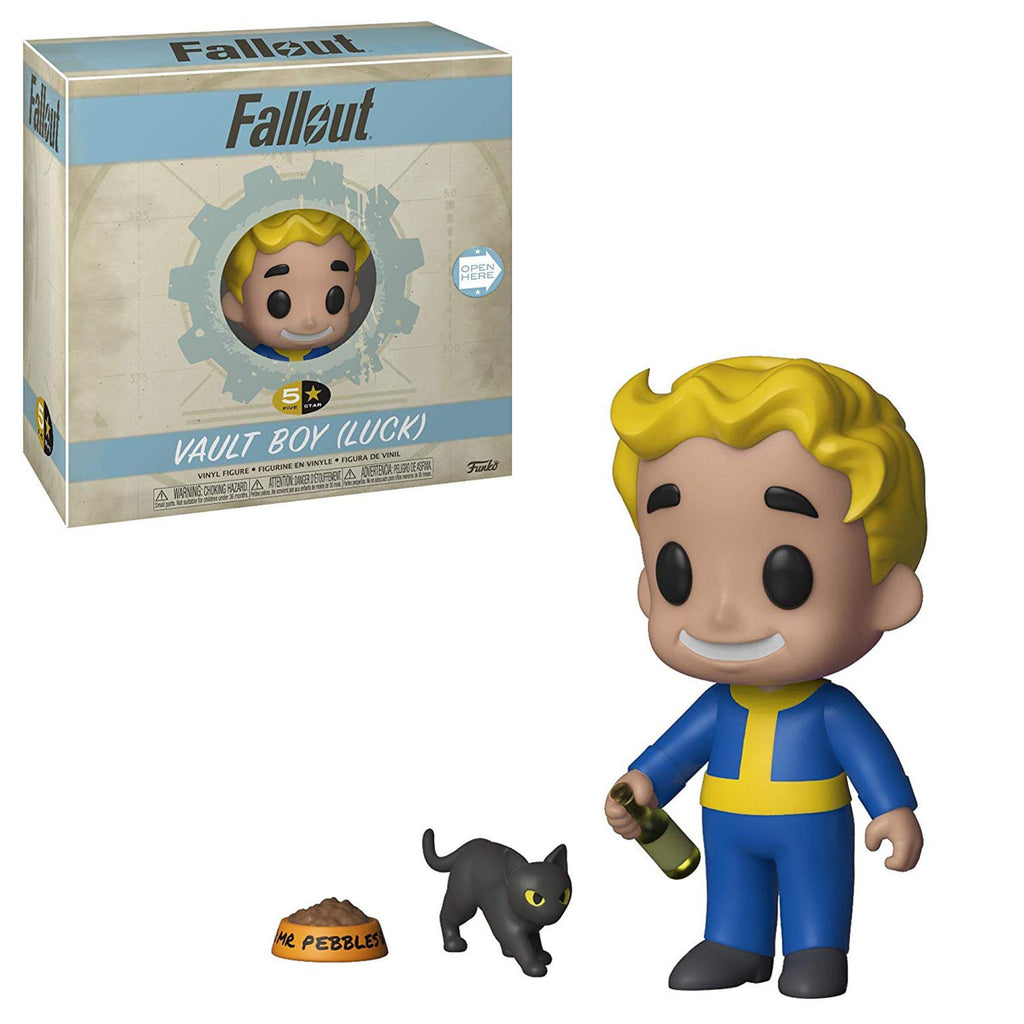 Funko Fallout 5 Star Vault Boy Luck Vinyl Figure