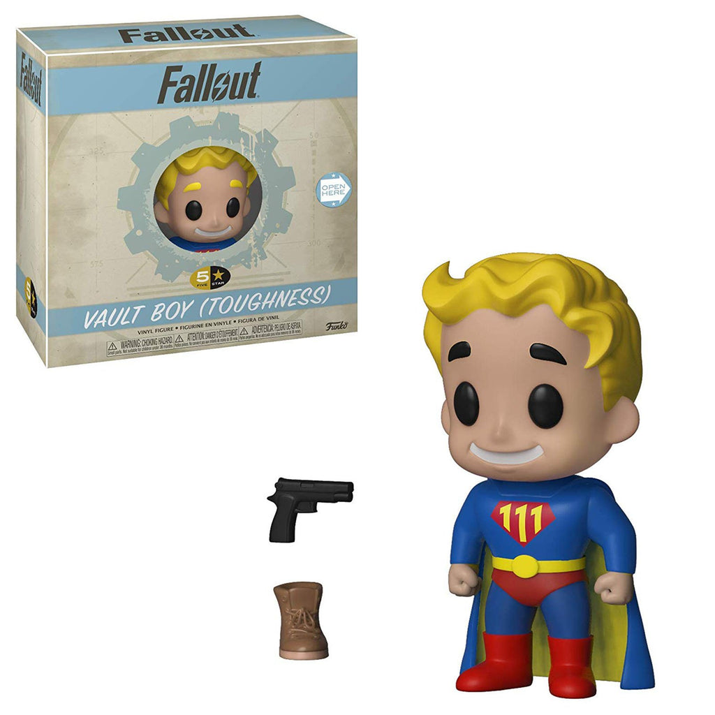 Funko Action Figures - Funko Fallout 5 Star Vault Boy Toughness Vinyl Figure