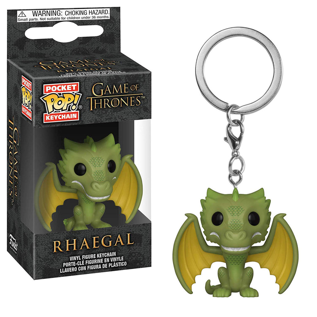 Funko Game Of Thrones Pocket POP Rhaegal Figure Keychain