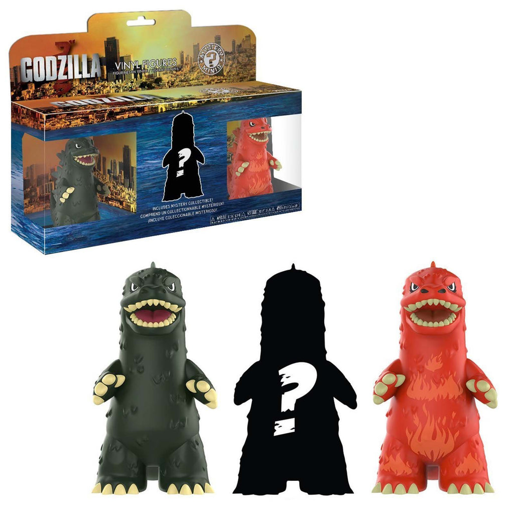 Funko Godzilla Mystery Mini 3 Pack Figure Set