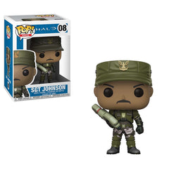 Funko POP Vinyl - Funko Halo POP Sgt Johnson Vinyl Figure