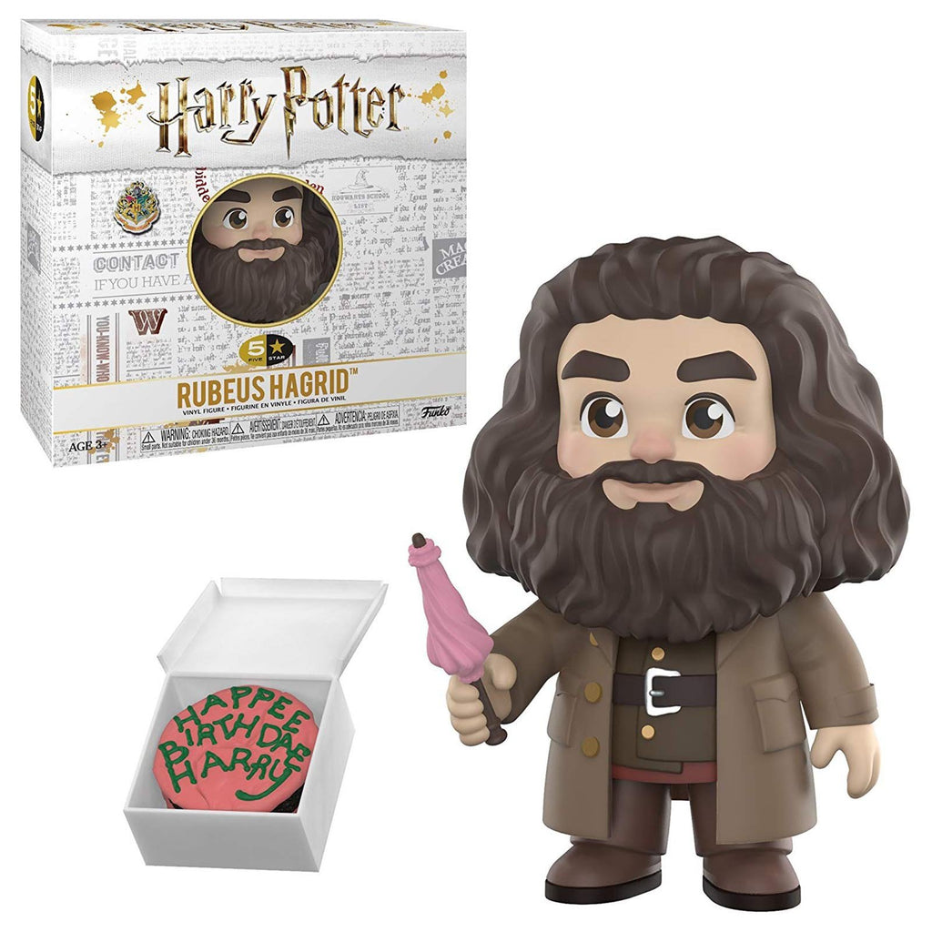 Funko Harry Potter 5 Star Rubeus Hagrid Vinyl Figure