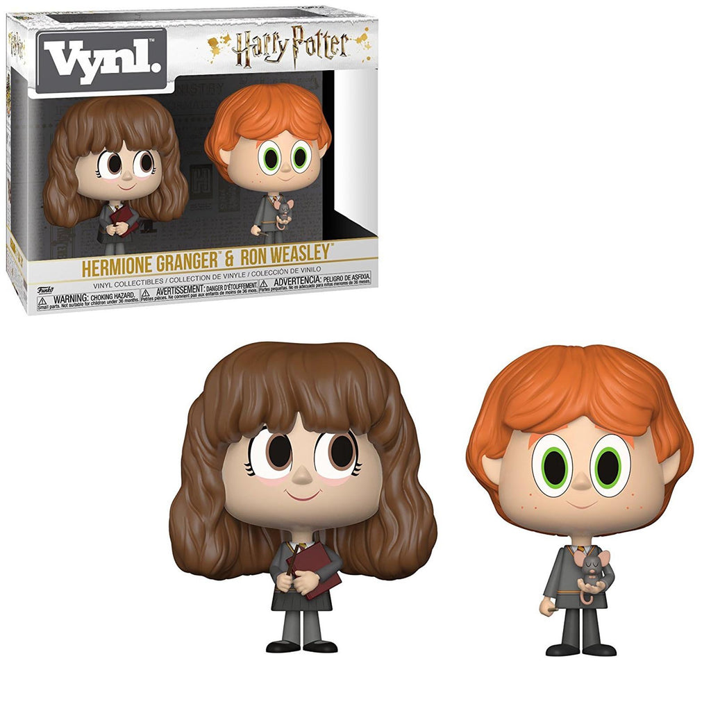 Funko Harry Potter Vynl Hermione Granger Ron Weasley Figure Set