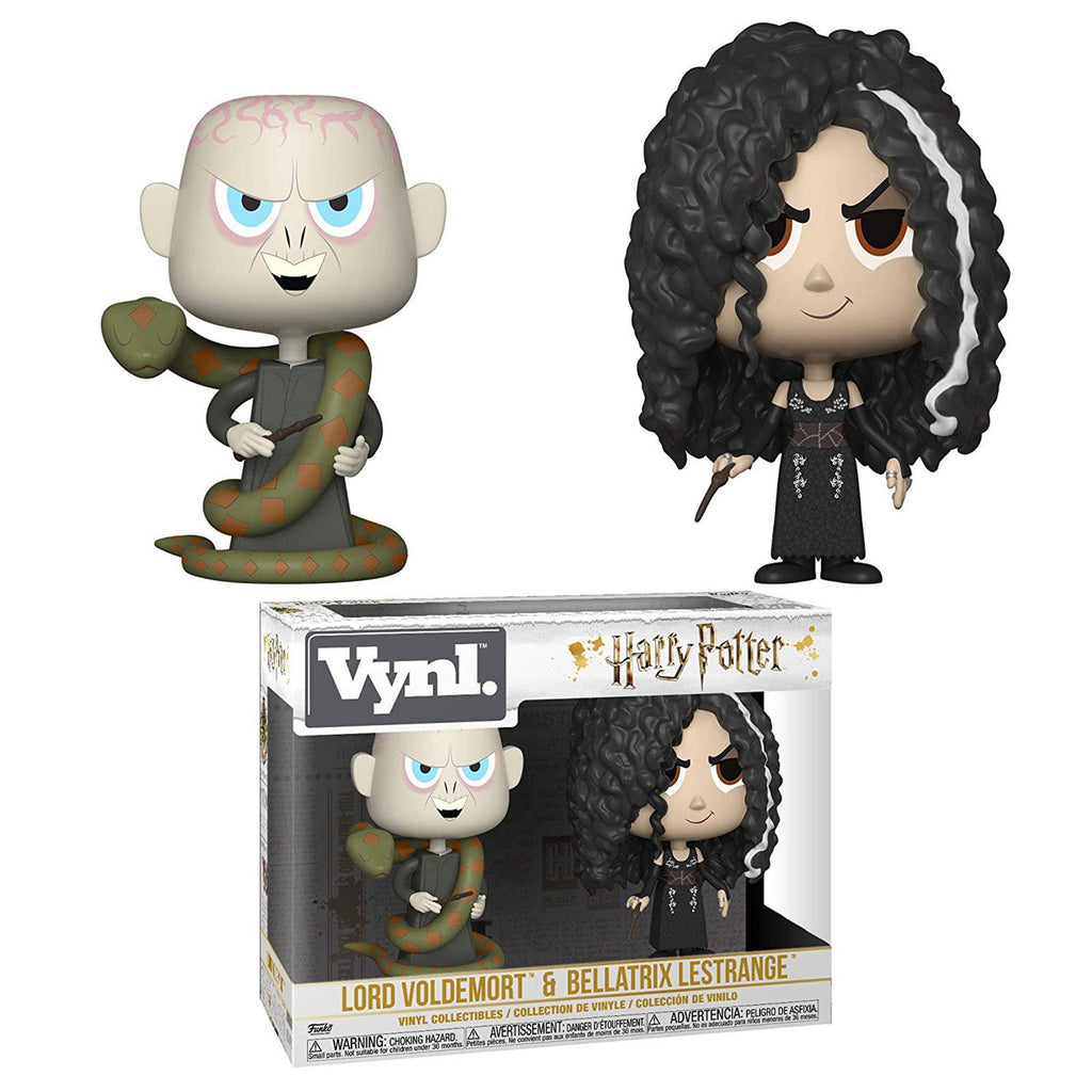 Funko Harry Potter Vynl Lord Voldemort Bellatrix Lestrange Figure Set