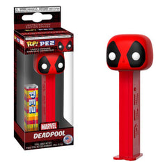 Funko Action Figures - Funko Marvel POP PEZ Deadpool Dispenser