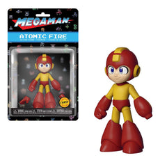 Funko Mega Man Atomic Fire 4.5 Inch Action Figure CHASE VERSION