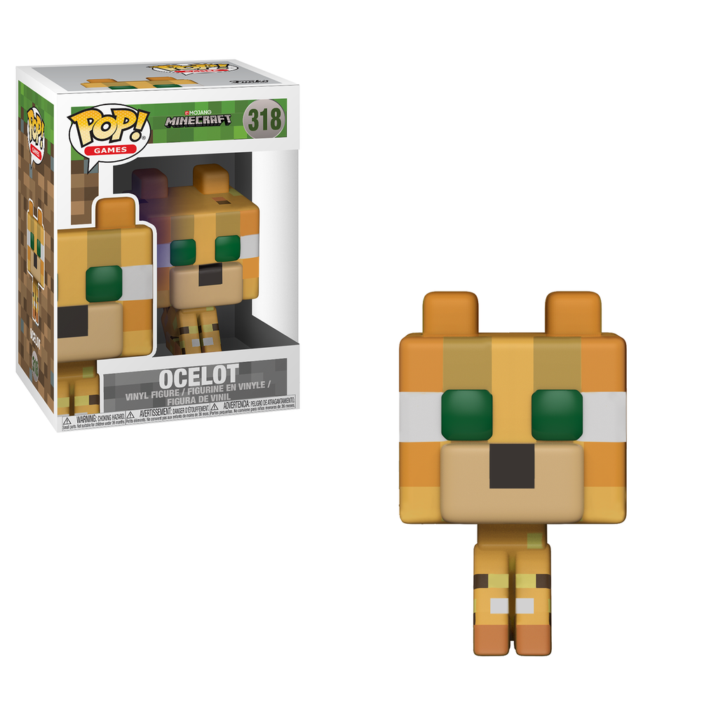 Funko Minecraft POP Ocelot Vinyl Figure