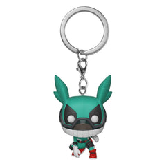 Funko My Hero Academia Pocket POP Deku With Helmet Keychain