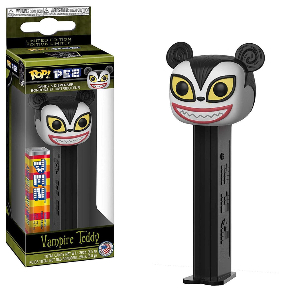 Funko Nightmare Before Christmas POP PEZ Vampire Teddy Dispenser