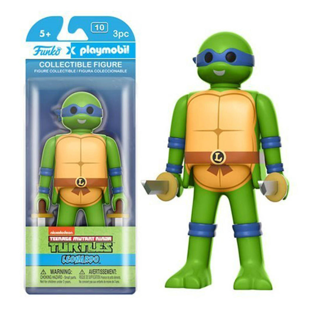 Funko Playmobil Teenage Mutant Ninja Turtles Leonardo Action Figure