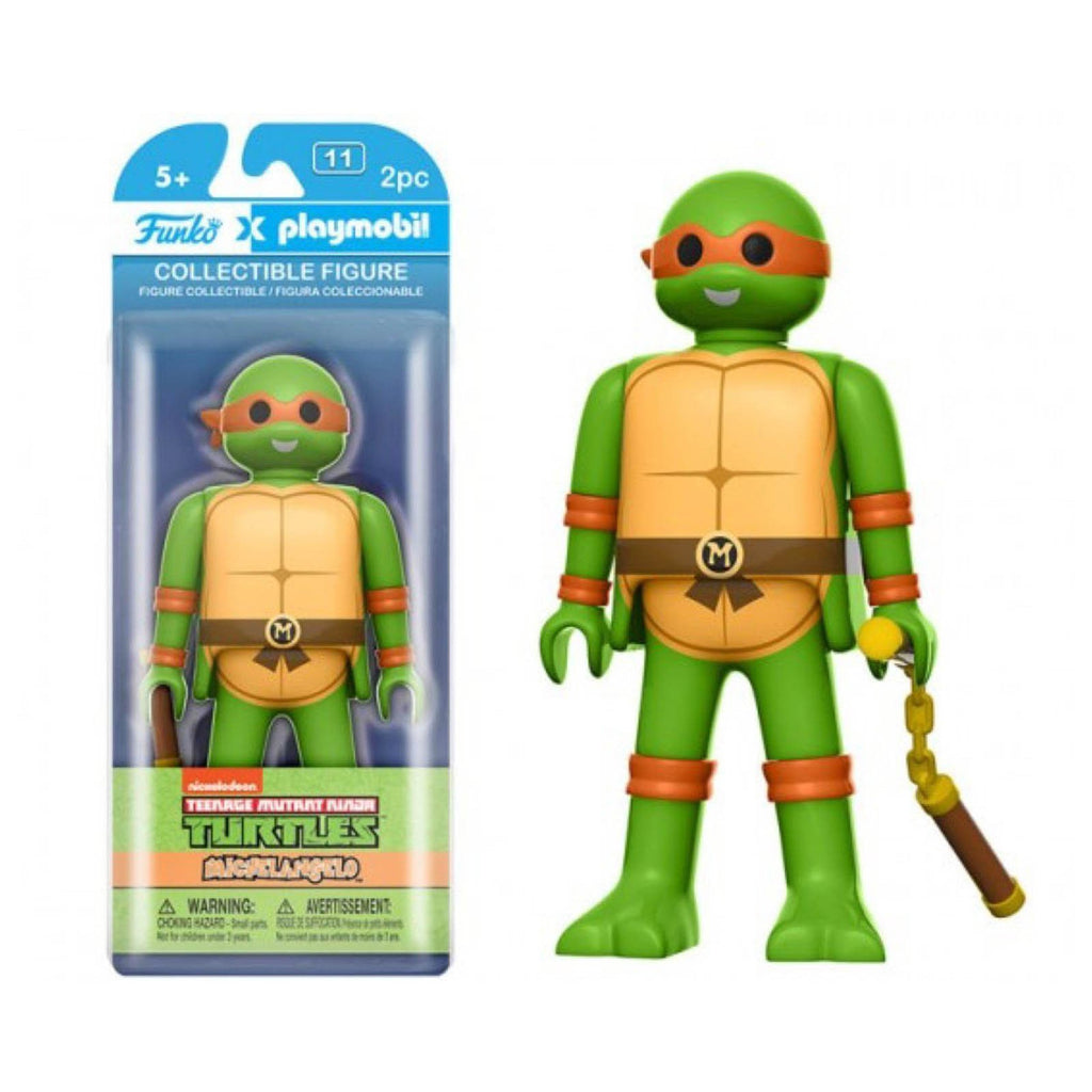 Funko Playmobil Teenage Mutant Ninja Turtles Michelangelo Action Figure