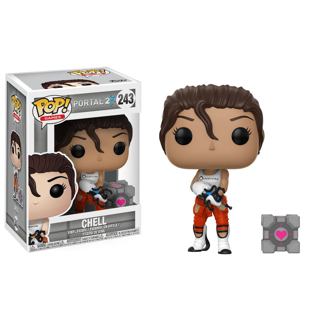 Funko Portal POP Chell With Portal Gun Vinyl Figure