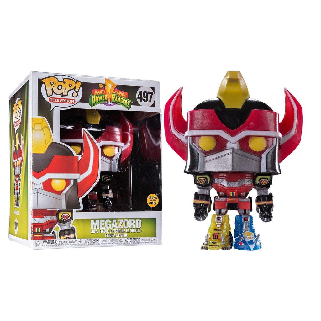 Funko Power Rangers EE Exclusive POP Megazord Vinyl Figure Set