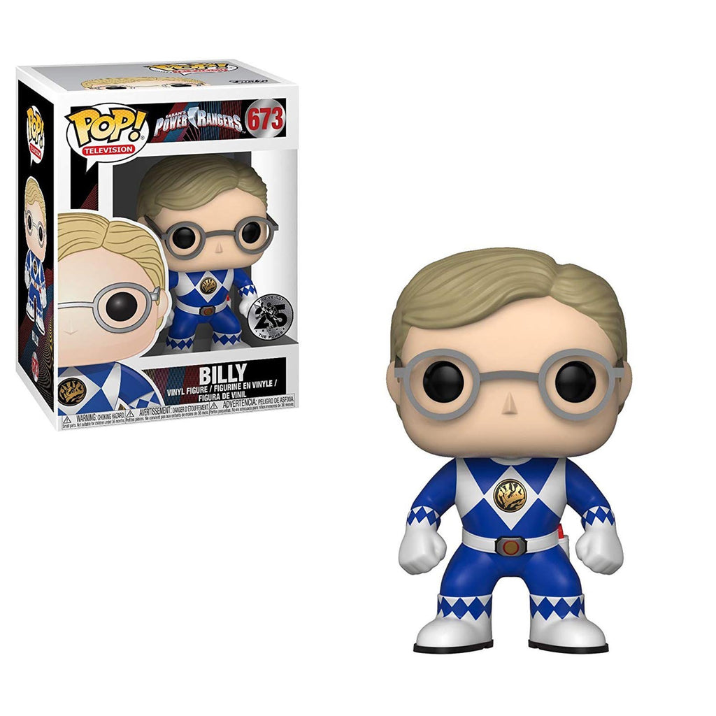 Funko Power Rangers TV POP Blue Ranger Billy No Helmet Vinyl Figure