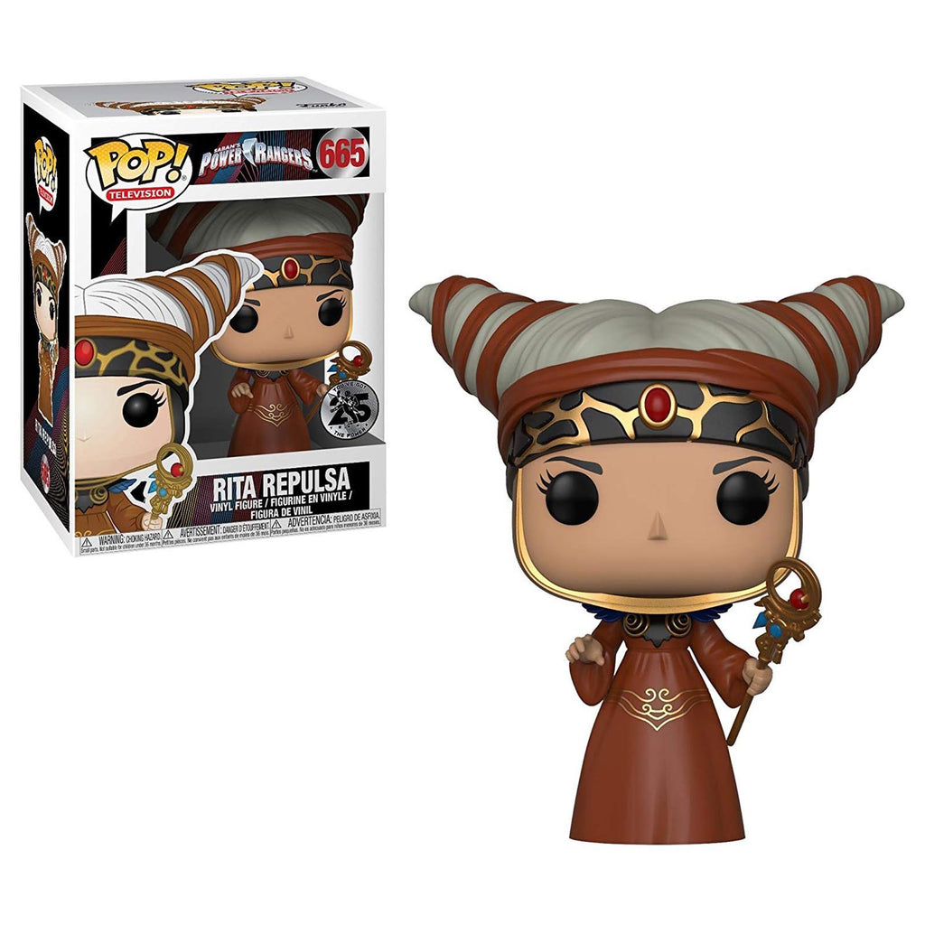 Funko Power Rangers TV POP Rita Repulsa Vinyl Figure