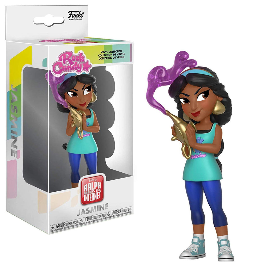Funko Ralph Breaks The Internet Rock Candy Jasmine Comfy Vinyl Figure