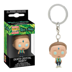 Funko Rick And Morty Pocket POP Death Crystal Death Morty Keychain