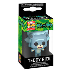 Funko Rick And Morty Pocket POP Teddy Rick Figure Keychain