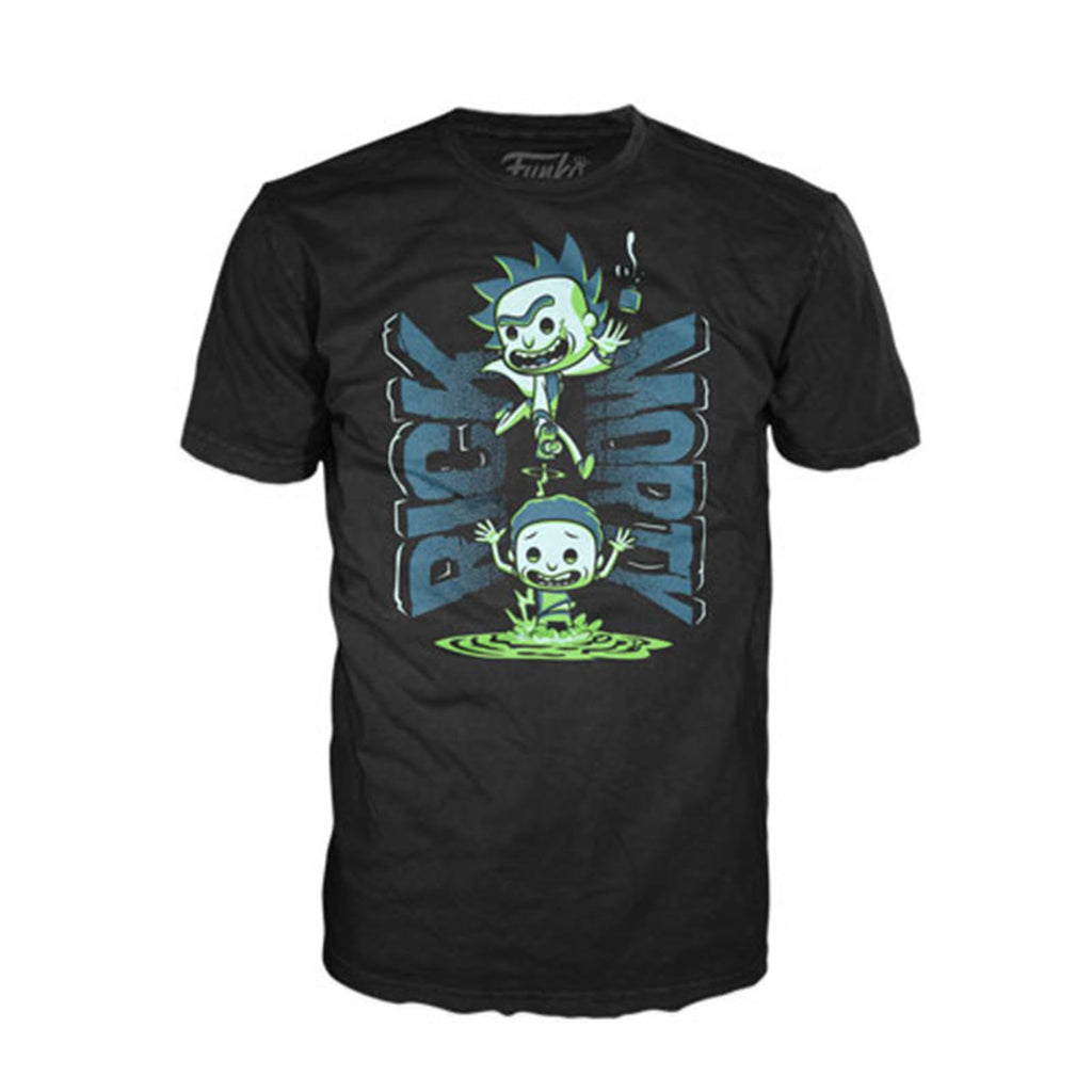 Funko Rick And Morty Portal Tee Shirt