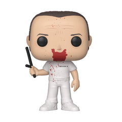 Funko Silence Of The Lambs POP Hannibal Lecter Bloody Vinyl Figure